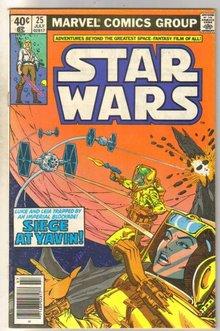 Star Wars #25 comic book very good 4.0