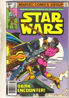 Star Wars #29 comic book very good 4.0