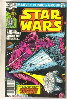 Star Wars #46 comic book very fine 8.0