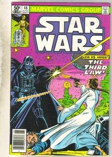 Star Wars #48 comic book very good 4.0