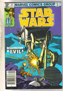 Star Wars #51 comic book very good 4.0