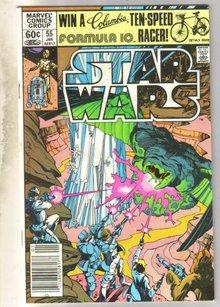Star Wars #55 comic book very fine 8.0