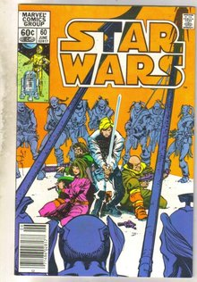 Star Wars #60 comic book very fine 8.0