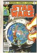 Star Wars #61 comic book very good 4.0