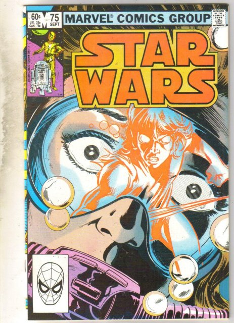 Star Wars #75 comic book very fine/near mint 9.0