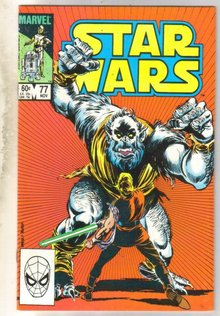 Star Wars #77 comic book very fine/near mint 9.0