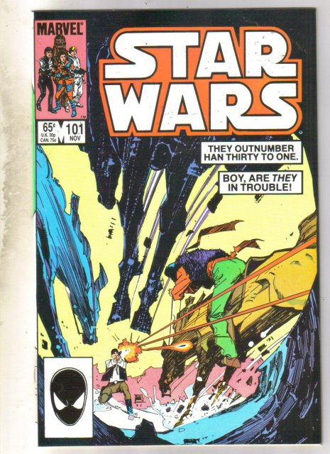 Star Wars #101 comic book very fine/near mint 9.0