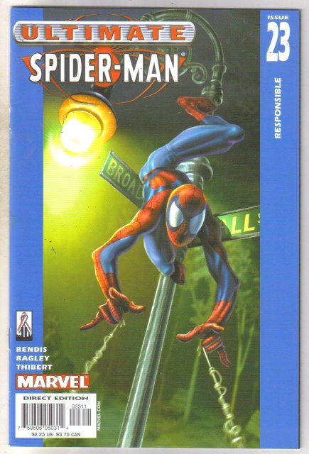 Ultimate Spider-man #23 comic book near mint 9.4