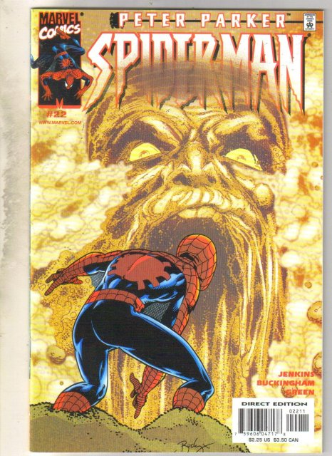 Peter Parker Spider-man #22 comic book mint 9.8
