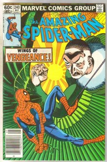 Amazing Spider-man #240 comic book very fine 8.0