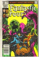Fantastic Four #256 comic book very fine 8.0