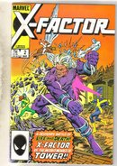 X-Factor #2 comic book near mint 9.4