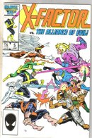 X-Factor #5 comic book mint 9.8