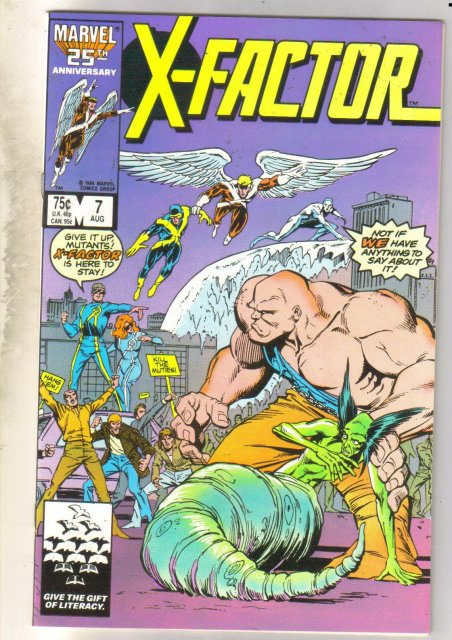 X-Factor #7 comic book near mint 9.4