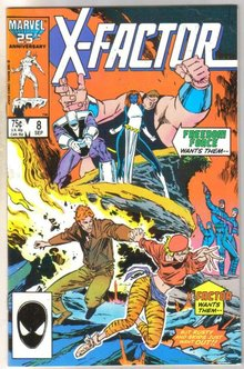 X-Factor #8 comic book near mint 9.4