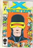 X-Factor #10 comic book near mint 9.4