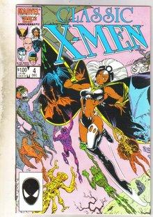 Classic X-men #4 comic book mint 9.8