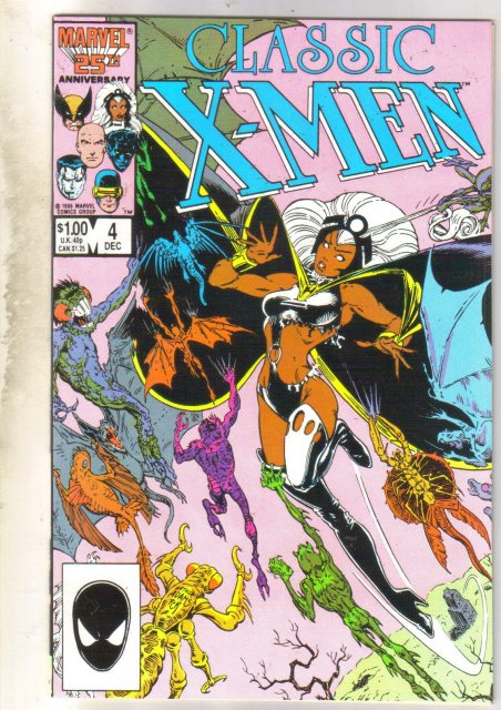 Classic X-men #4 comic book mint 9.8