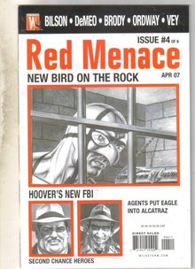 Red Menace #4 comic book mint 9.8