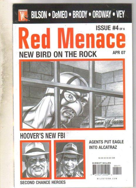 Red Menace #4 comic book mint 9.8
