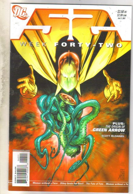 52 Week #42 comic book near mint 9.4