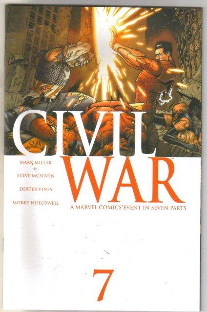 Civil War #7 comic book mint 9.8
