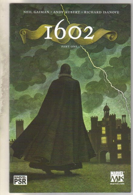 Marvel 1602 #1 comic book mint 9.8