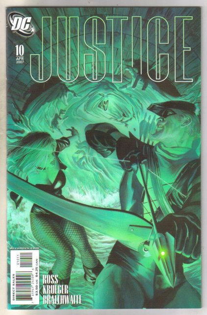 Justice #10 comic book mint 9.8