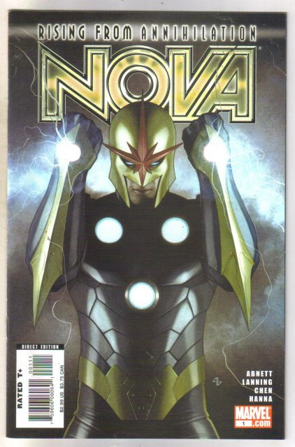 Nova #1 comic book near mint 9.4