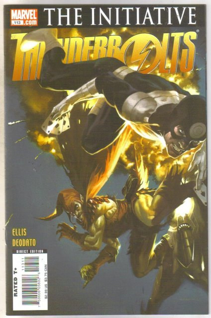 Thunderbolts #113 comic book mint 9.8