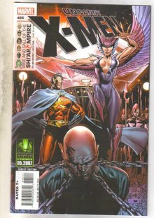 Uncanny X-men #485 comic book mint 9.8