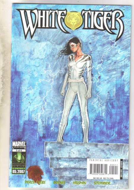 White Tiger #5 comic book mint 9.8