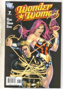 Wonder Woman #7 comic book near mint 9.4