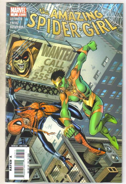 Amazing Spider-girl #7 comic book mint 9.8