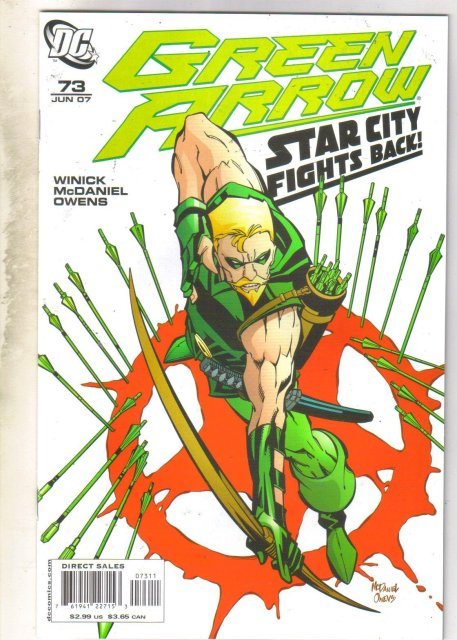 Green Arrow #73 comic book mint 9.8