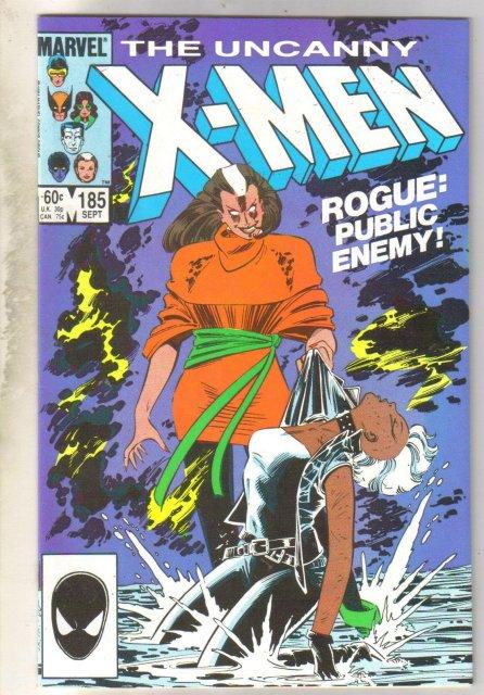 Uncanny X-men #185 comic book near mint 9.4