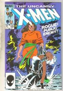 Uncanny X-men #185 comic book near mint 9.4