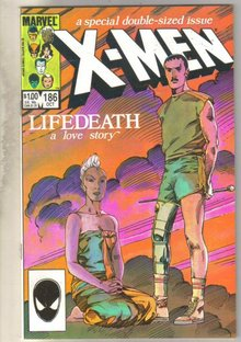 Uncanny X-men #186 comic book near mint 9.4