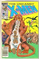 Uncanny X-men #187 comic book fine 6.0