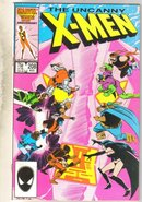 Uncanny X-men #208 comic book near mint 9.4