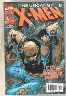 Uncanny X-men #393 comic book mint 9.8