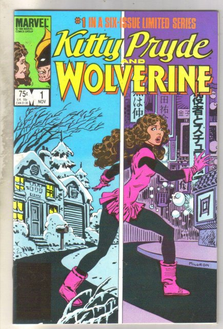 Kitty Pryde and Wolverine #1 comic book mint 9.8