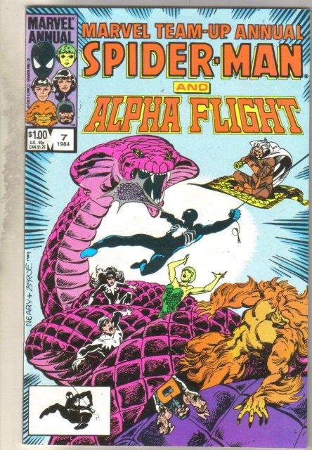 Marvel Team-Up Annual #7 comic book near mint 9.4
