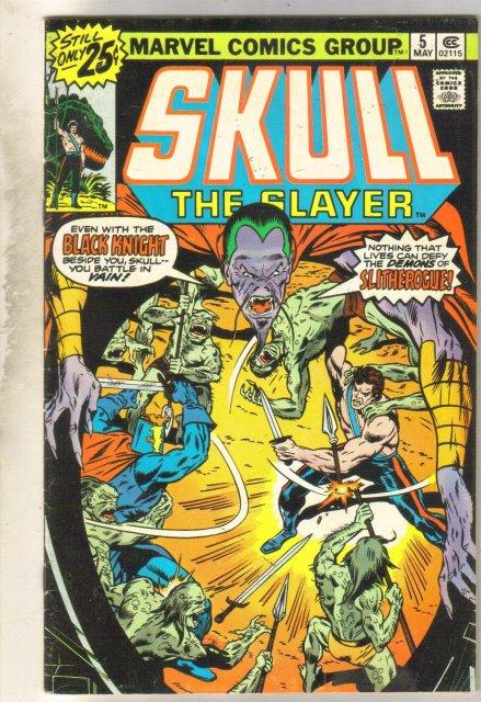 Skull the Slayer #5 comic book very good 4.0