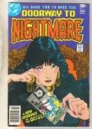 Doorway to Nightmare #1 comic book fine 6.0