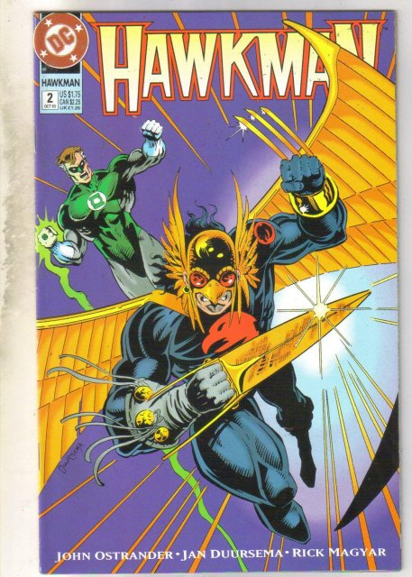 Hawkman #2 comic book near mint 9.4