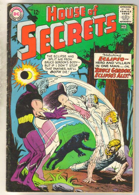 House of Secrets #70 comic book good 2.0
