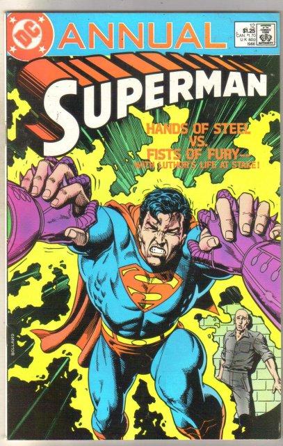 Superman Annual #12 comic book fine/very fine 7.0