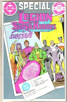 Legion of Substitute Heroes Special #1 comic book mint 9.8