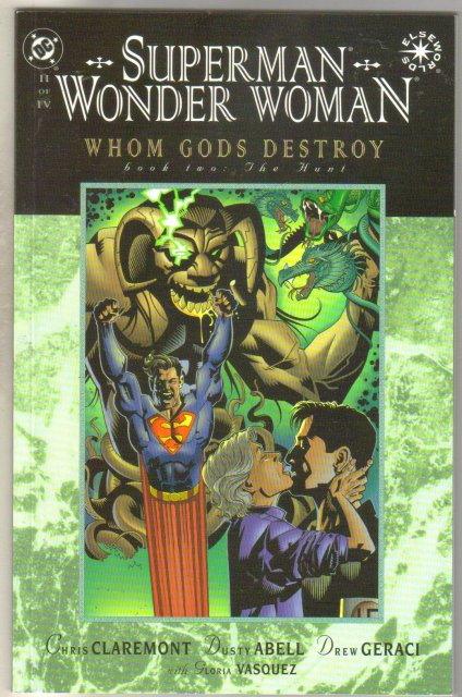 Superman Wonder Woman Whom Gods Destroy #2 comic book mint 9.8